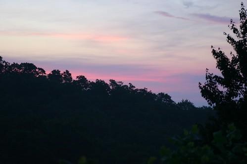trees sunset nature sunrise soft pastel dreamy skycloudsun