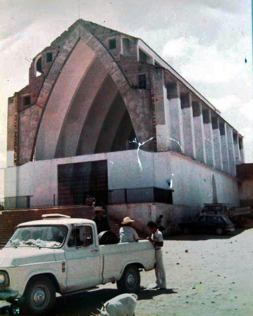 Igreja antes da inundação