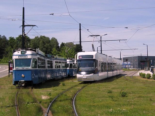 Tram Glatttalbahn Zürich (VBG)