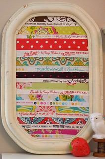 Framed Selvage Tutorial | by sweeterthancupcakes
