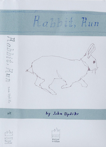 "Jennie Ottinger ""Rabbit Run (front of book cover)"""