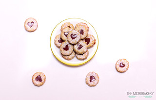 Linzer Jam Cookies | by themicrobakery