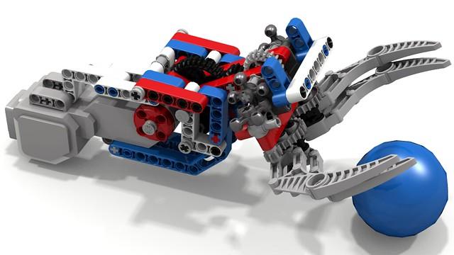 Lego EV3 Clamp-N-Lift by tingeypa