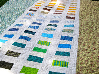 Earth and sky quilt tutorial