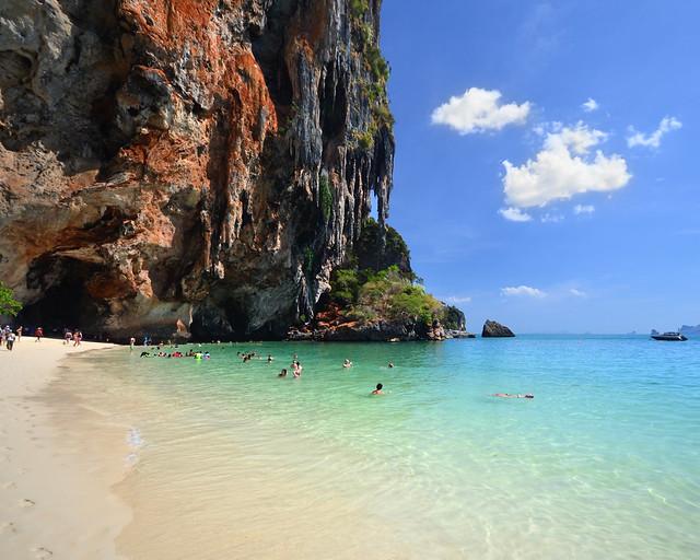 Phranang Cave, una de las playas más bonitas que ver en Tailandia