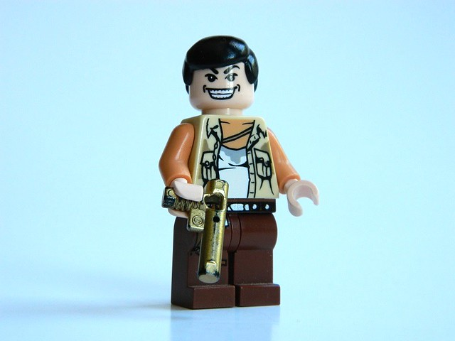LEGO: Uncharted Drake's Fortune - Eddy Raja