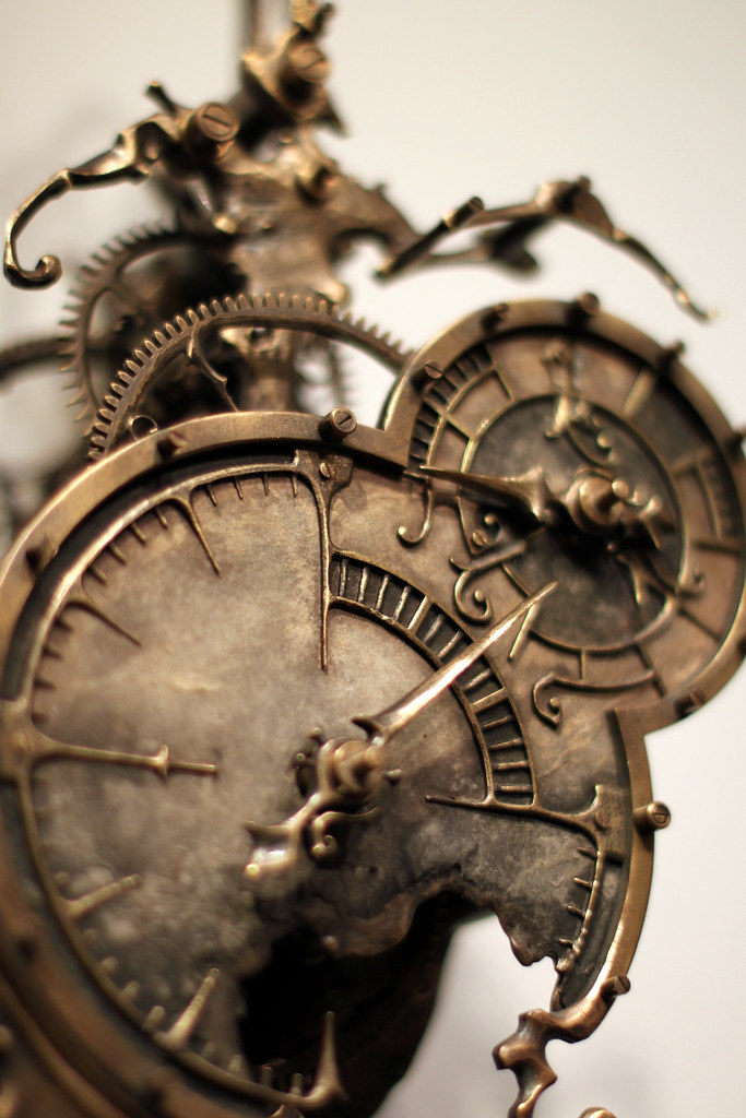 Mechanical Clock 9 By Eric Freitas Steampunk