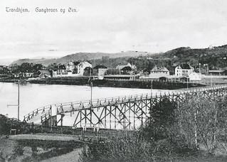 Gangbrua og Øya  (1907)