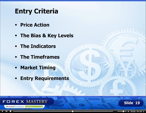 Forex entry criteria