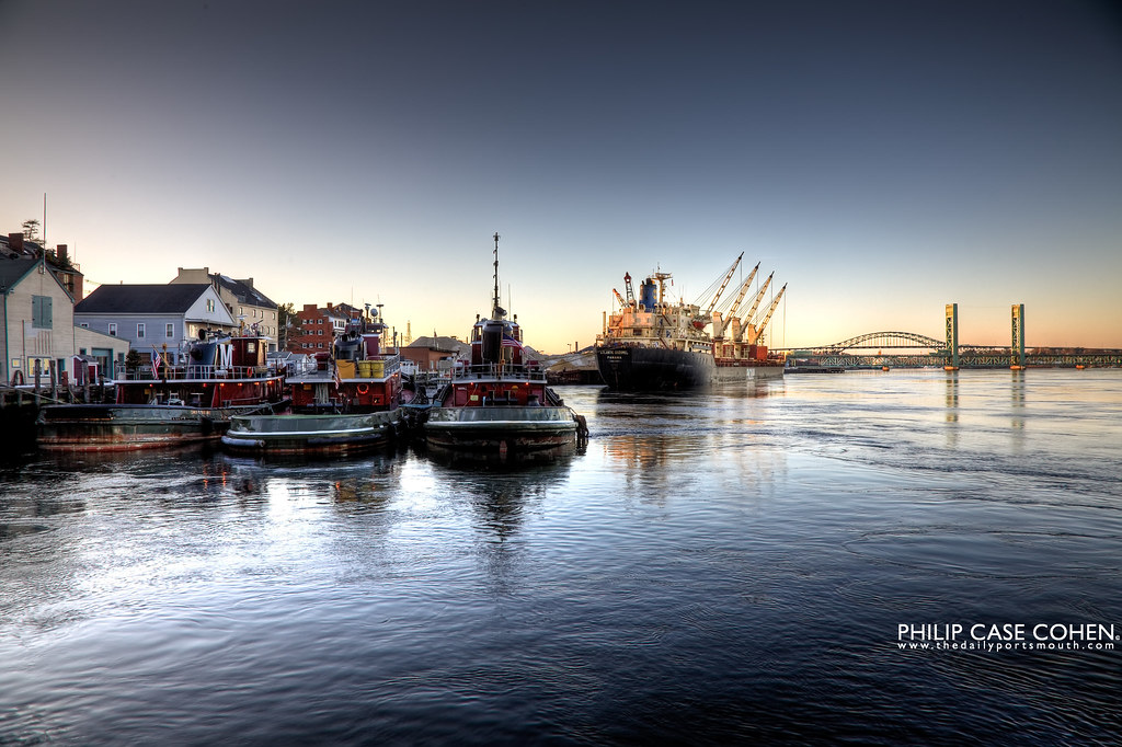 Waterfront | Portsmouth, NH by Philip Case Cohen