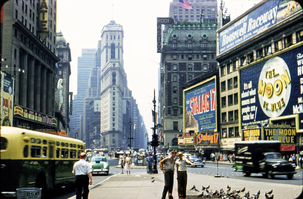 Life in New York 1953 – Archive Footage