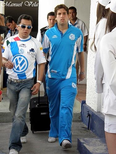 Zona mixta Estadio Cuauhtémoc (entrevista a medios) por LAE Manuel Vela