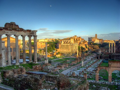 Roman Forum and Colosseum | by rmlowe