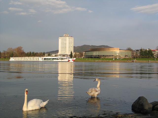 Linz at the Danube - Upper Austria