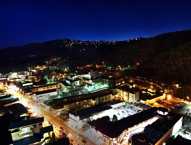 Gatlinburg at Night, Sevier Co, TN