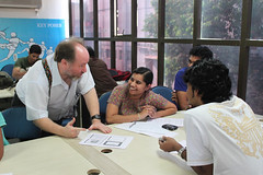 The workshop at ICAT Bangalore | by Ernest W Adams