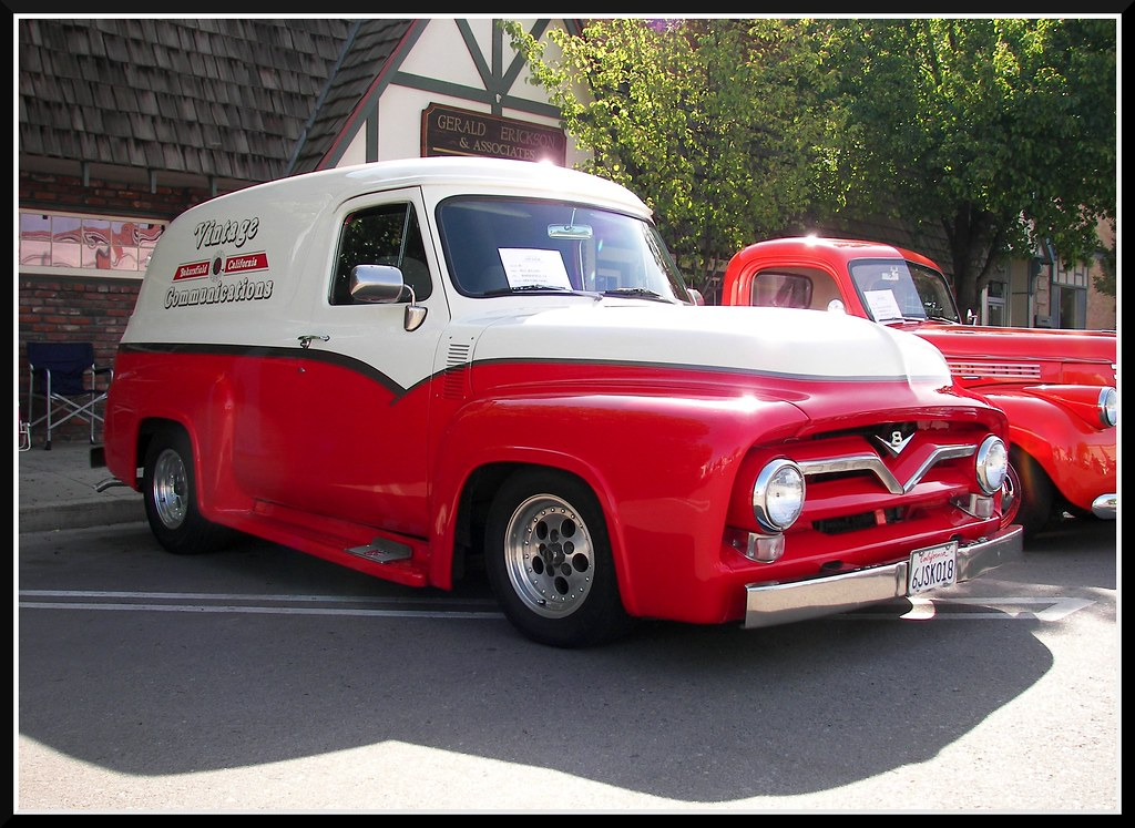 New Ford Truck >> '54 Ford Panel Truck | A very nice 1954 Ford panel truck ...