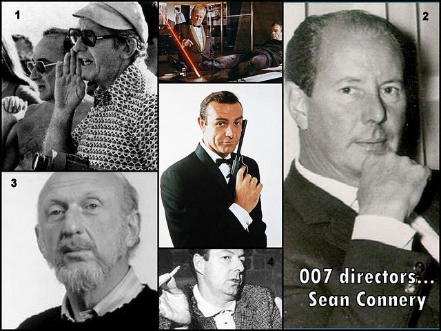 Great directors in the 007 saga: Sean Connery...