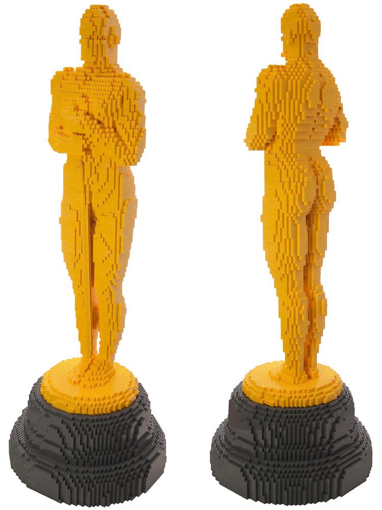 LEGO Oscar : isometric views