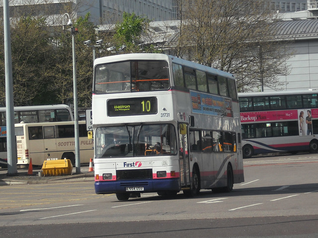 First Edinburgh - L554 USU (31731)