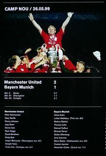 Manchester Bayern 1999 Champions final