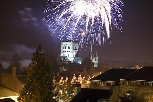 St Albans fireworks 2010