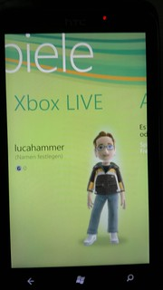 Windows Phone 7 Xbox LIVE | by Luca Hammer