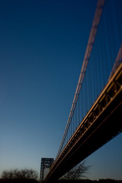 NYC:Uptown: George Washington bridge