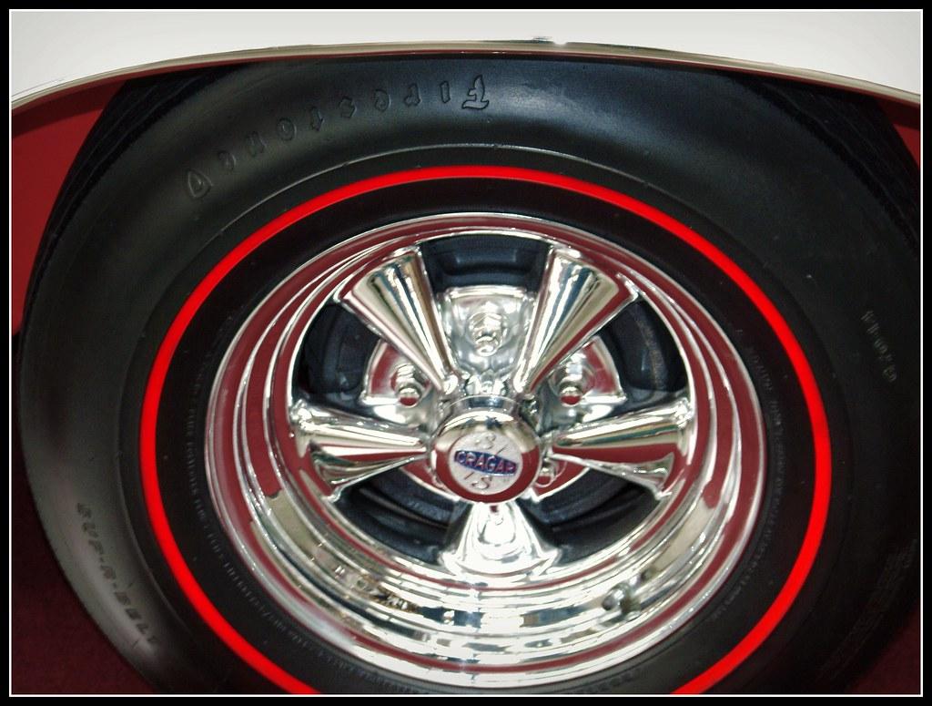 Red Line Tires >> World Of Wheels 1 7 10 Firestone Redline Tires On Cragers Flickr