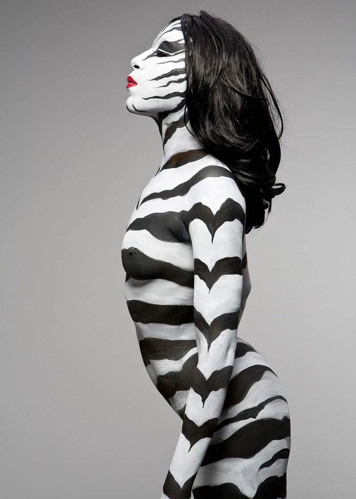 Zebra Photo By Bobby Friedel C Body Art By Keegan Do Not Us Flickr