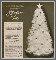 "1958 Sears ""Nylon"" Christmas tree | by mcudeque"