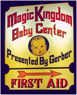 MK Baby Center sign 1978 | 35mm Ektachrome slide from 1978 ...