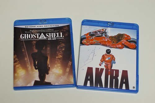 GHOST IN THE SHELL 2.0 / AKIRA  [Blu-ray] | by cinz