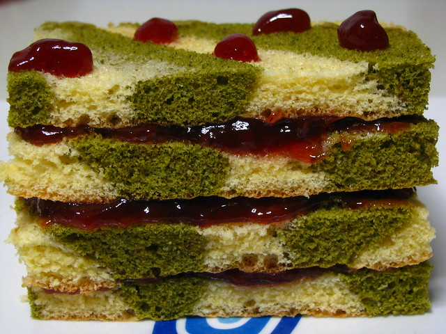 matcha cakes