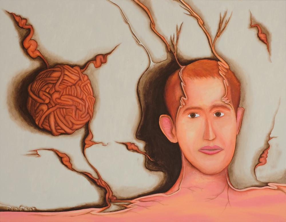 Self portrait by Dror Miler