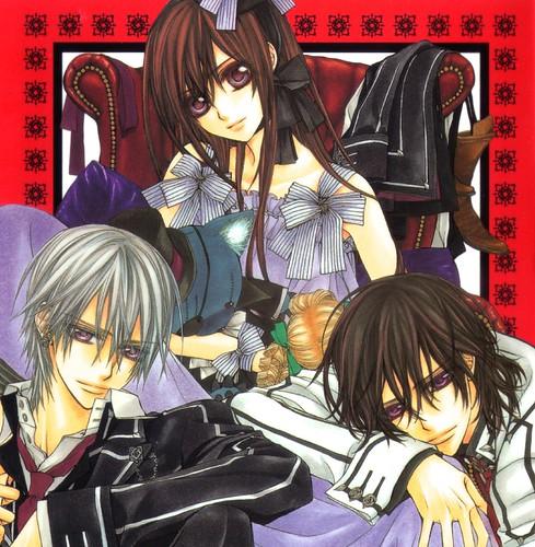Vampire Knight Wallpaper: Mon Paradis Secret - Minitokyo