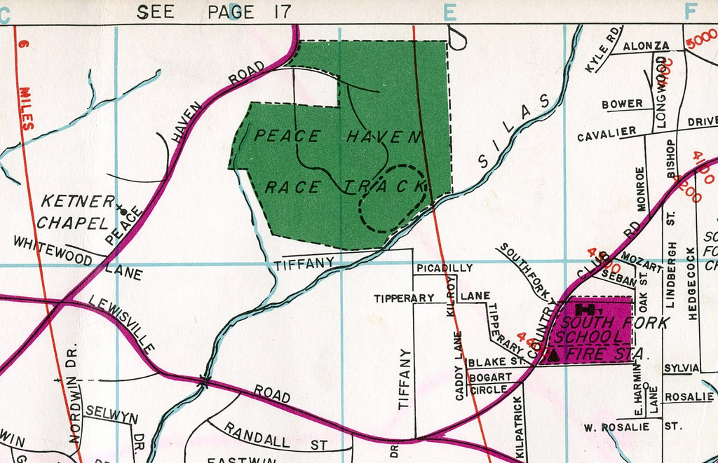 Peace Haven Speedway Map And History