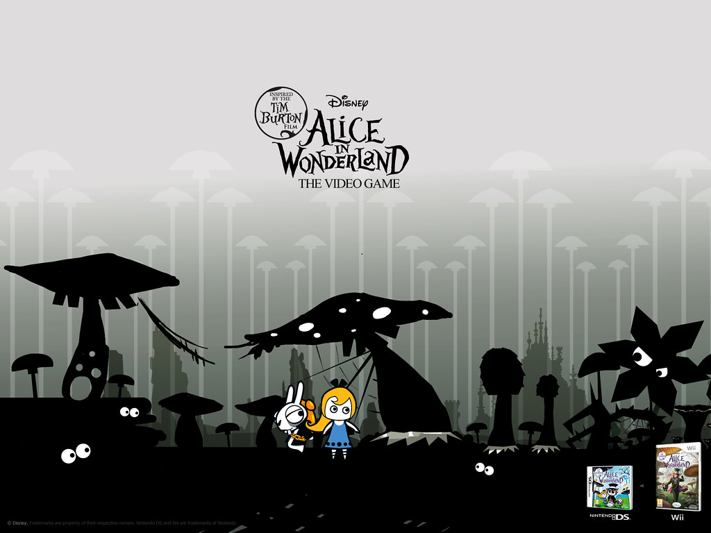 Alice In Wonderland The Ds Game Wallpaper From The Uk Dis Flickr