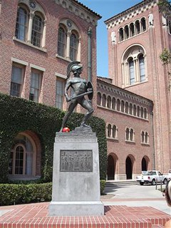 University of Southern California Tommy Trojan statue | by greatdegree