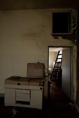 Antiga cama de ginecologia