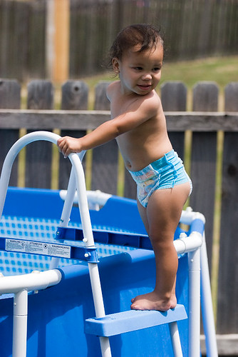 Jaiden_on_pool_ladder_s | by ToddMorris