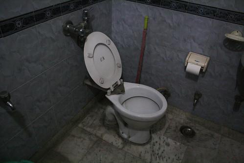 インドホームステイの家のトイレ | by kimama_labo