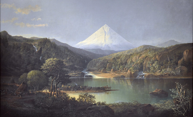 Mt. Hood from the Dalles 1871