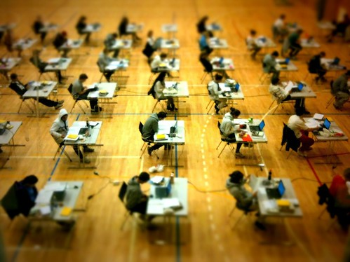 The exam | by bitjungle