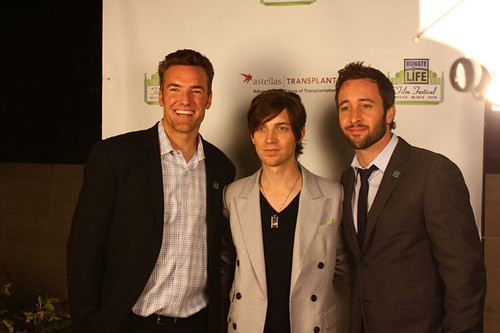Olympic snowboarding bronze medalist Chris Klug; musician Alex Band; actor Alex O'Loughlin | by Power of 2