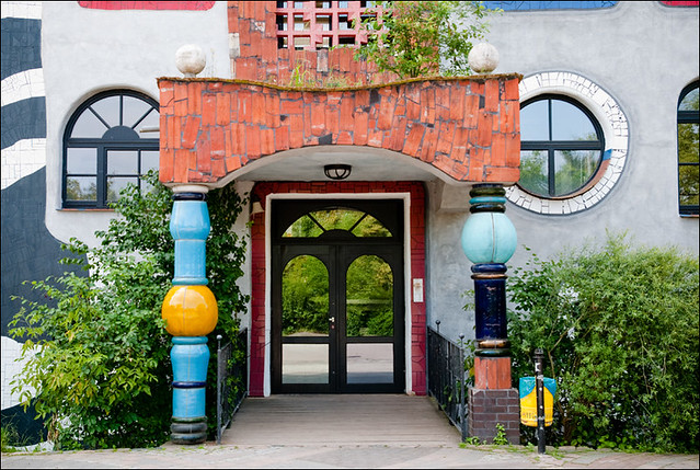 Luther Melanchton Gymnasium in Wittenberg by Hundertwasser 6