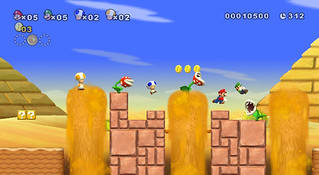 New Super Mario Bros Wii screenshots | by gamesweasel