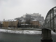 Salzburg in the Snow