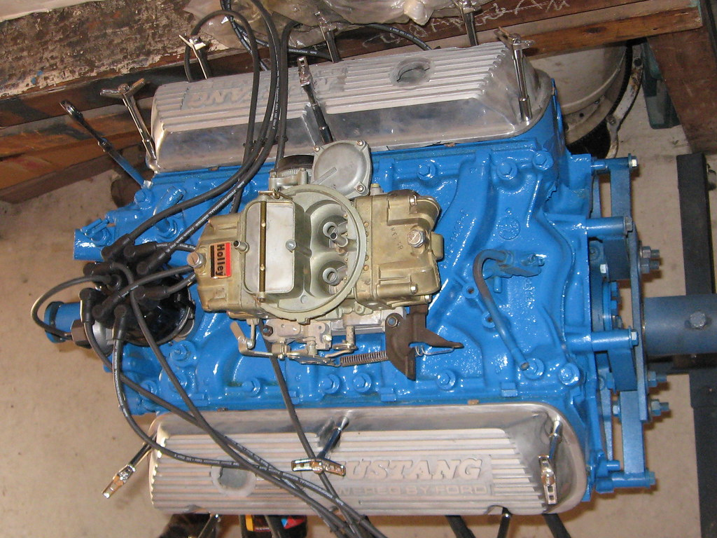 351 Windsor with a 4 barrel Holley carb 1969 Mustang   Flickr