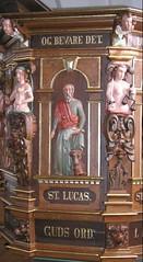 Prædikestol i Sædder Kirke - detalje3